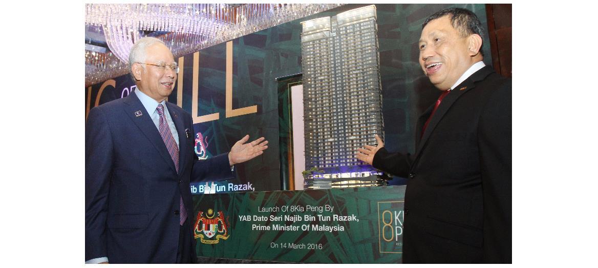 8Kia Peng meets NKEA's Greater Kuala Lumpur/ Klang Valley aspirations, says Prime Minister