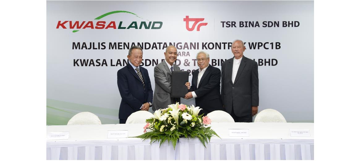 Kwasa Land Sdn Bhd awards RM268.9 million infrastructure works to TSR Bina Sdn Bhd