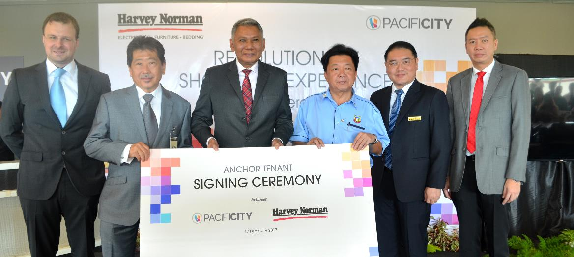PACIFICITY Shopping Mall Heralds First Harvey Norman Store in East Malaysia