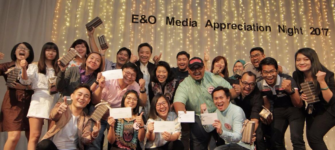 Merriment and Laughter Fill E&O Media Night 2017