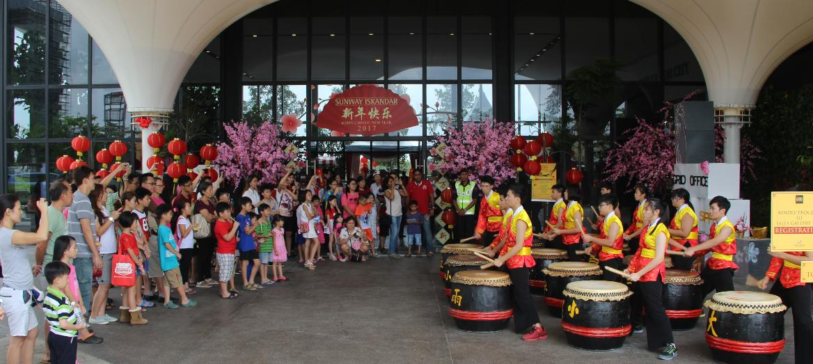 Sunway Iskandar Celebrates a GRID Chinese New Year