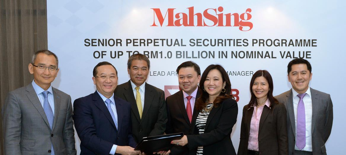 Mah Sing to Establish Perpetual Securities Programme of up to RM1 Billion for Landbanking and Acceleration of Works