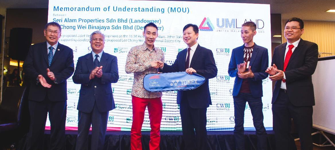 UMLand Signs MOU with Chong Wei Binajaya Sdn Bhd