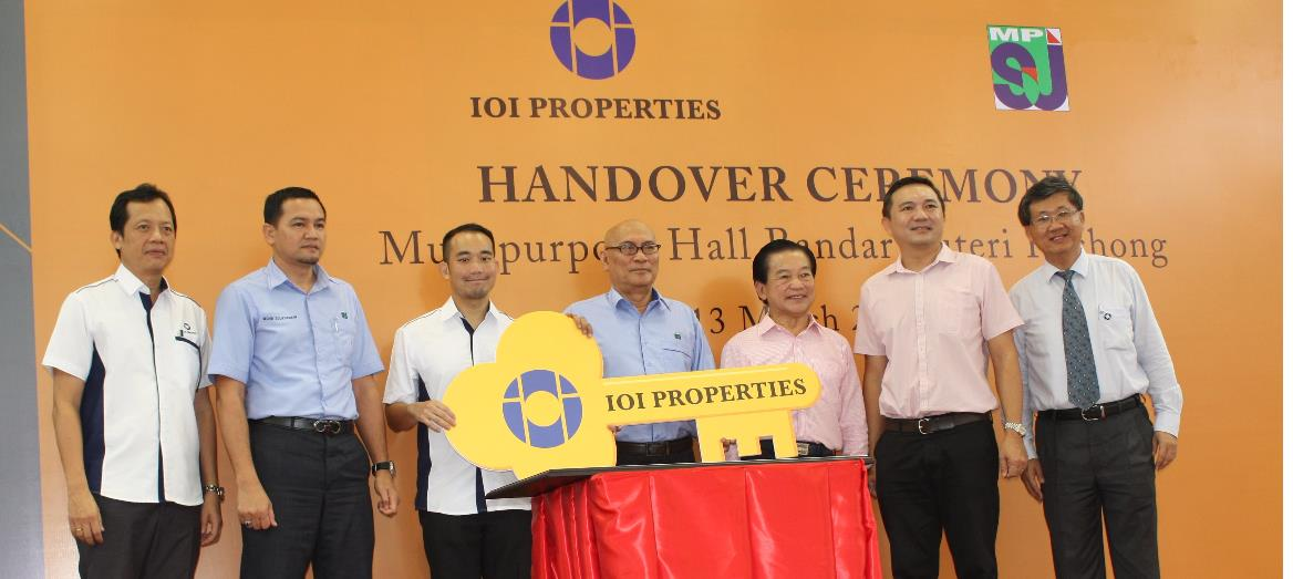 IOI Properties Group Builds 7000 sq ft Multipurpose Hall for Bandar Puteri Puchong