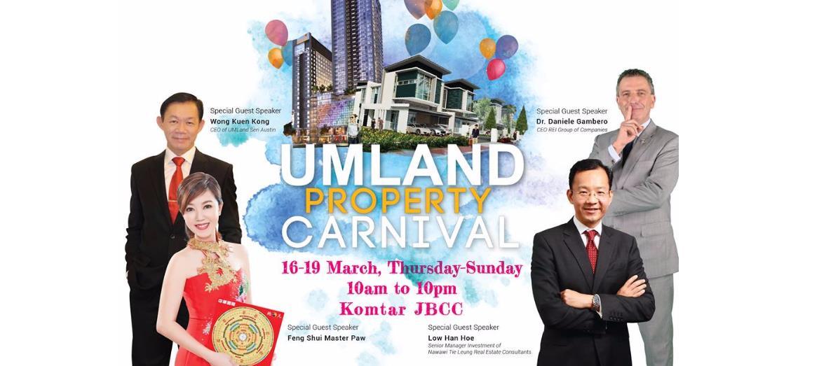 UMLand Organizes Property Carnival at Johor Bahru