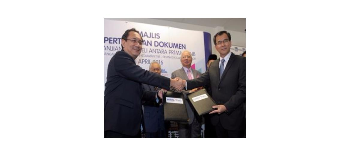 PR1MA and TNB sign agreement to build apartments in Kajang