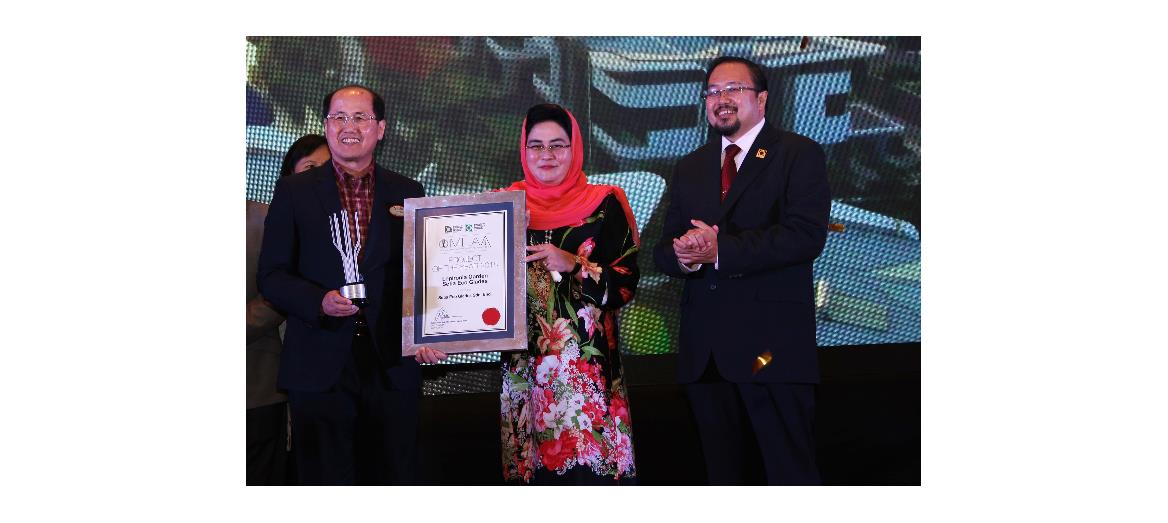 """S P Setia awarded ILAM's Malaysia Landscape Architecture Award 2015 """"Project Of The Year"""""""