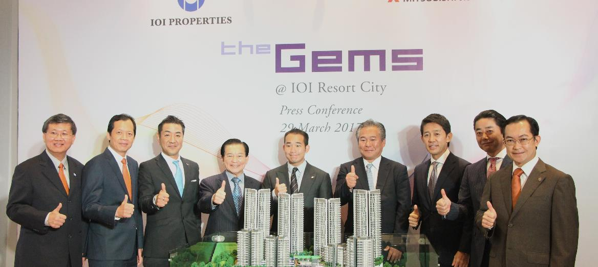 IOI Properties and Mitsubishi Jisho Residence Unveil The Gems in IOI Resort City