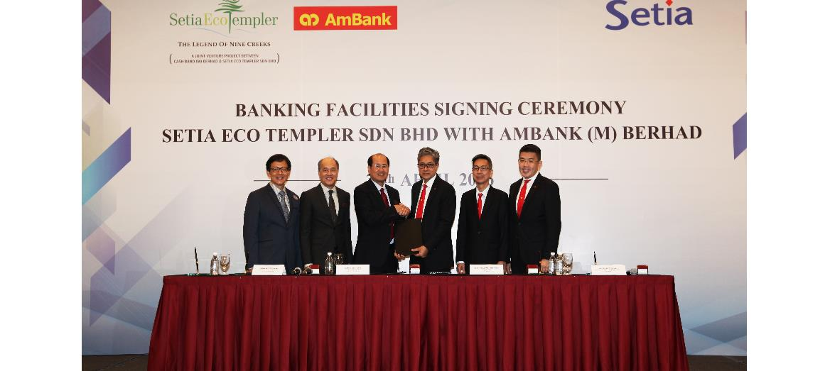 Setia Eco Templer is geared up for maiden launch with banking facilities from Ambank