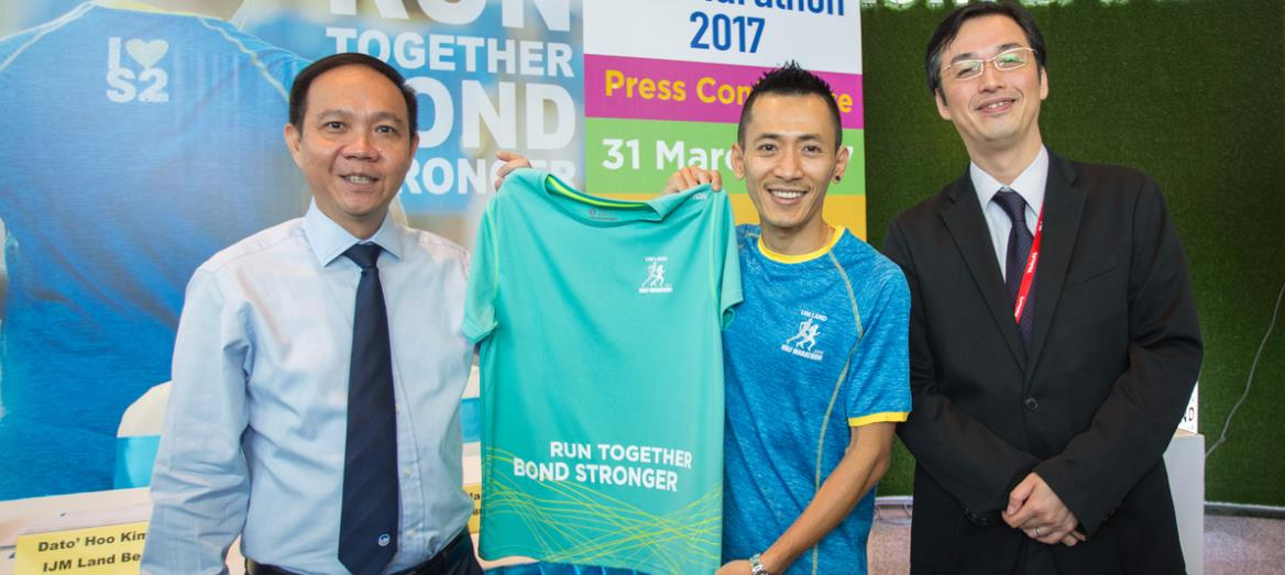 IJM Land Half Marathon Encourage Individuals to Face Challenge and Run