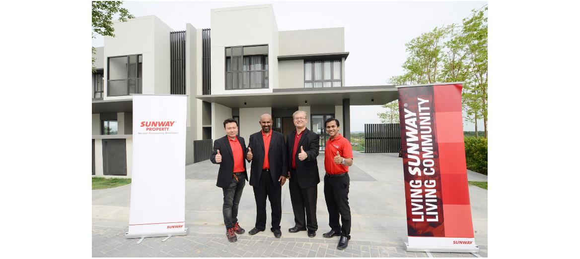 Sunway Iskandar unveils its first landed homes over an action-packed weekend