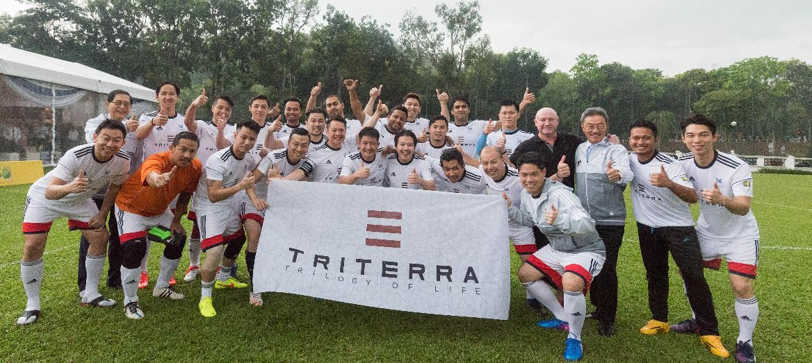 Triterra and Naza TTDI Formalise Partnership With Football Match