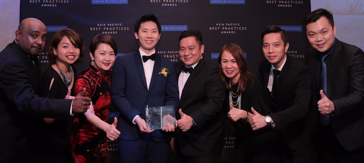 Frost & Sullivan Names Mah Sing As 2017 Property Development Company of the Year