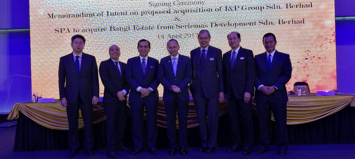 S P Setia to Acquire I&P Group, Forming One of Malaysia's Largest Property Company