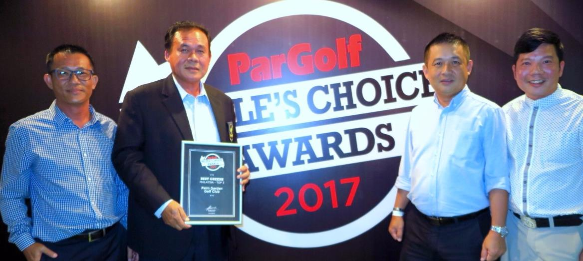 IOI Properties Group Berhad''s PGCC @ IOI Resort City Wins ParGolf People's Choice Awards 2017