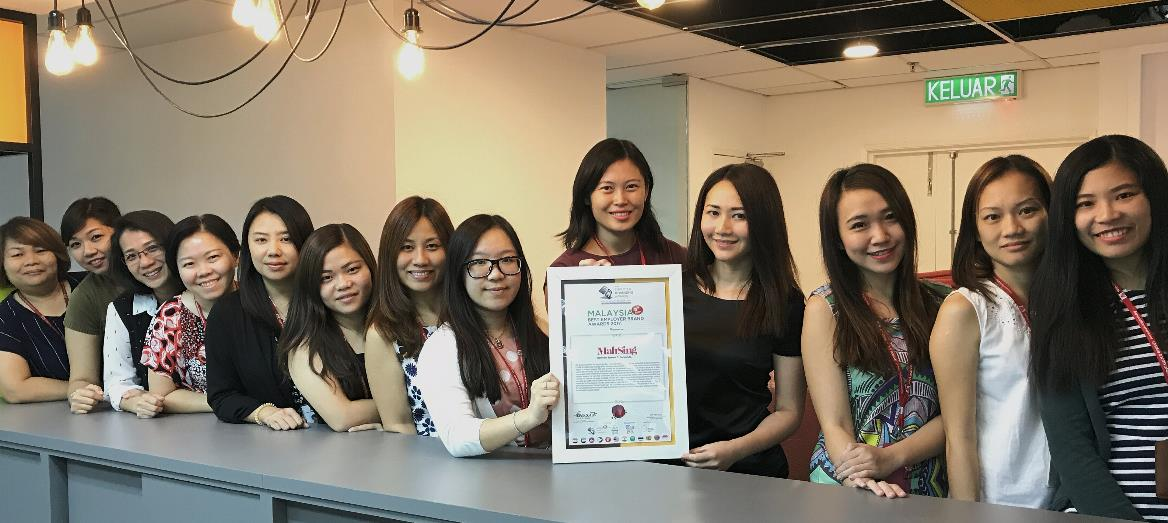 Mah Sing Group Named Top Employer Brand for the Third Consecutive Year by Employer Branding Institute (EBI)