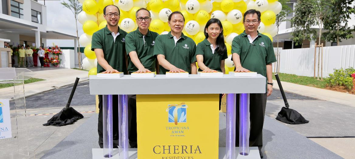 Tropicana Unveiled Cheria Residences Show Houses