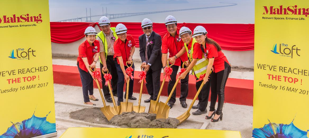 Mah Sing Celebrates Topping Up Ceremony For The Loft @ Southbay, Penang