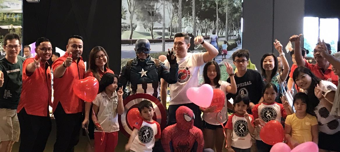 Superheroes Visit Mah Sing''s Fern and Dandelion, New 2-storey Link Homes in Meridin East, Johor