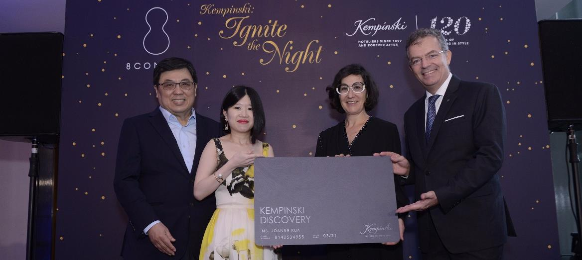 KSK Land Celebrates Kempinski''s 120 Years of ''Traveling in Style'' With Owners of OF YOO8 Serviced-by-Kempinski
