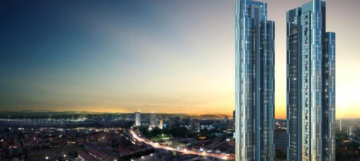 Astaka Holdings Tops Off Tallest Residential Towers In Southeast Asia