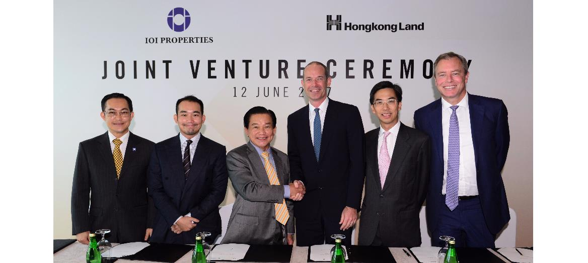 IOI Properties Group and Hongkong Land to Jointly Develop Central Boulevard Land in Singapore