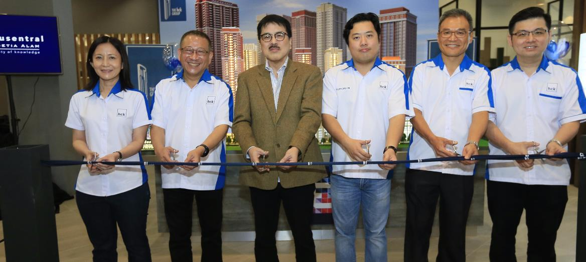 HCK Group Launches Edusentral @ Setia Alam, Records Impressive 100% Take-Up Rate