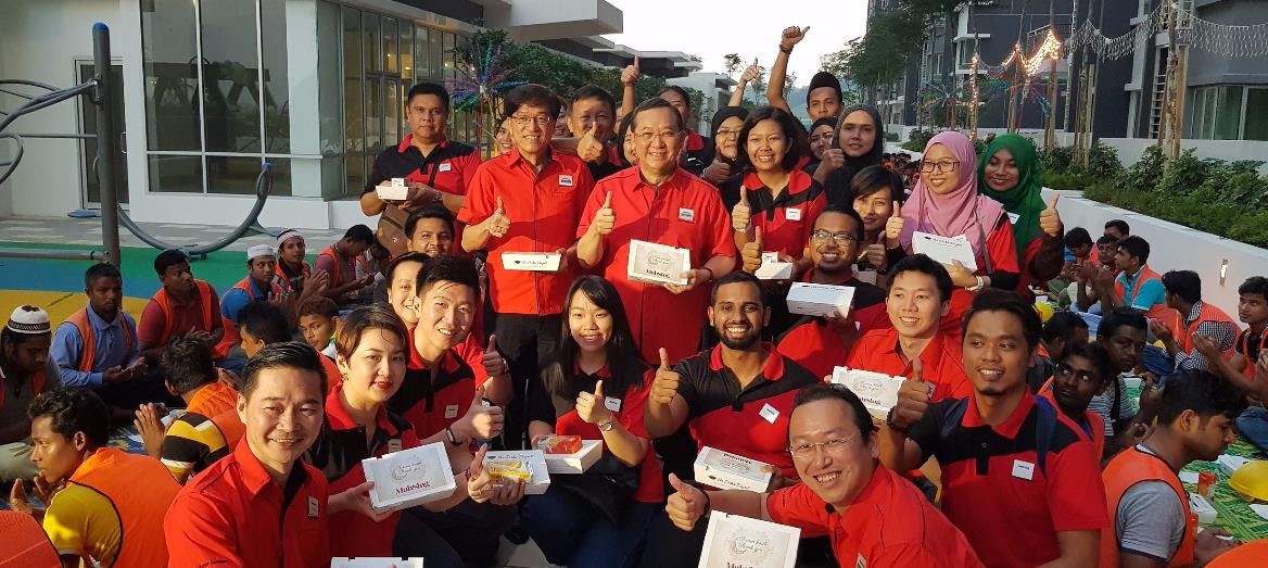 Mah Sing Throws Break Fast Open House For Unsung Heroes