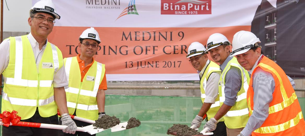 Premium Office Building Medini 9 in Iskandar Puteri's CBD Opens in 2018