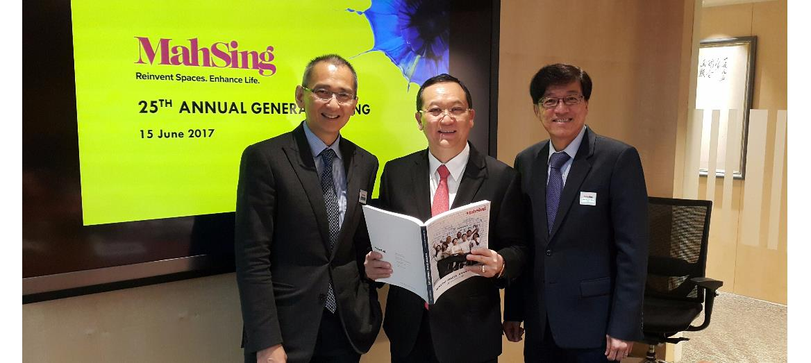 Mah Sing Group To Buy More Lands In Klang Valley; Continues To Develop Affordable Residential Products Priced Below RM500,000
