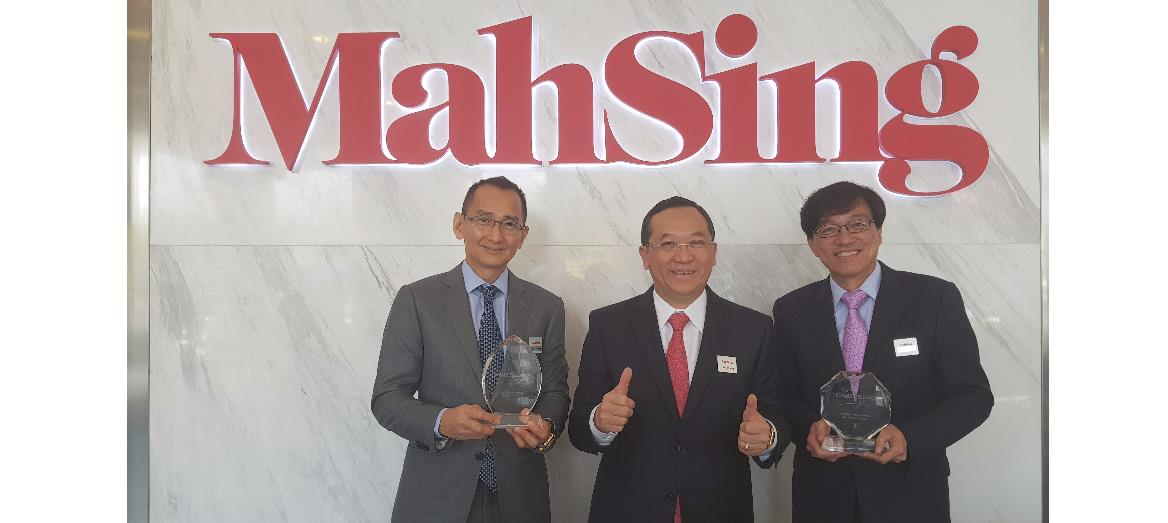 Mah Sing Reaches Another Milestone At The Corporate Governance 7th Asian Excellence Awards 2017
