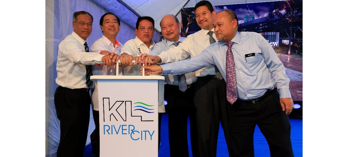 Launching of KL River City: Rejuvenation and transformation of Northern Kuala Lumpur & Gombak River