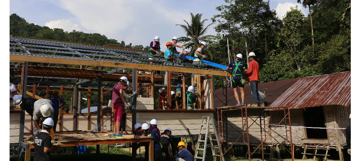OSK Property joins EPIC Homes to provide a better living condition for Orang Asli family