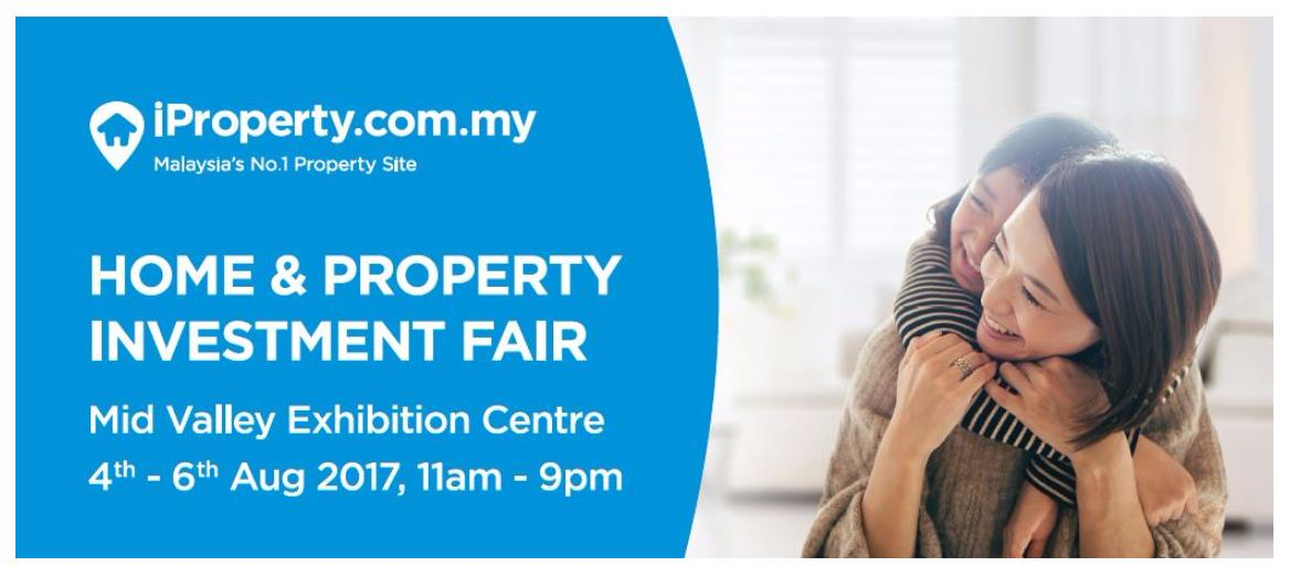Register now for the iProperty.com Malaysia Home & Property Investment Fair