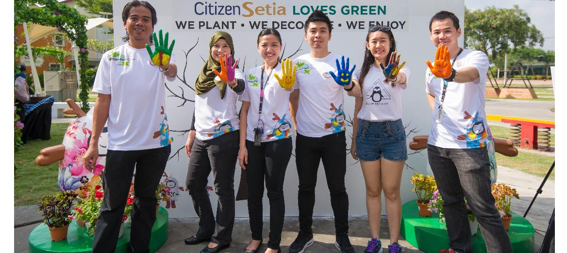 'The Earthlings Project – Citizen Setia Loves Green' by S P Setia