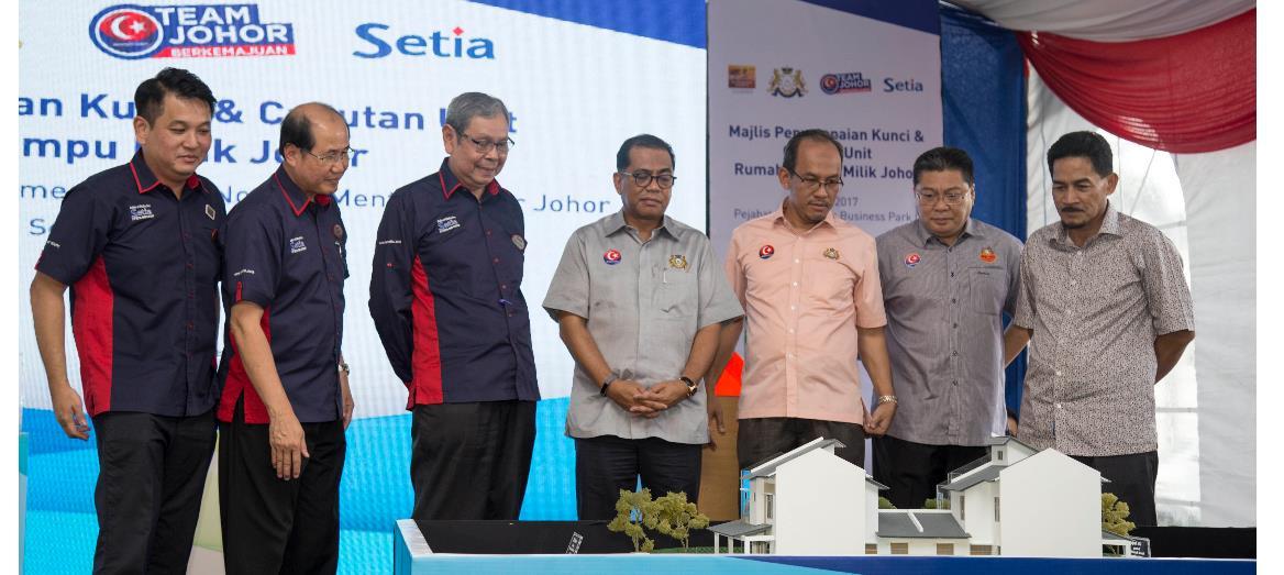 S P Setia Delivers Rumah Mampu Milik Johor (RMMJ) at Setia Business Park 2