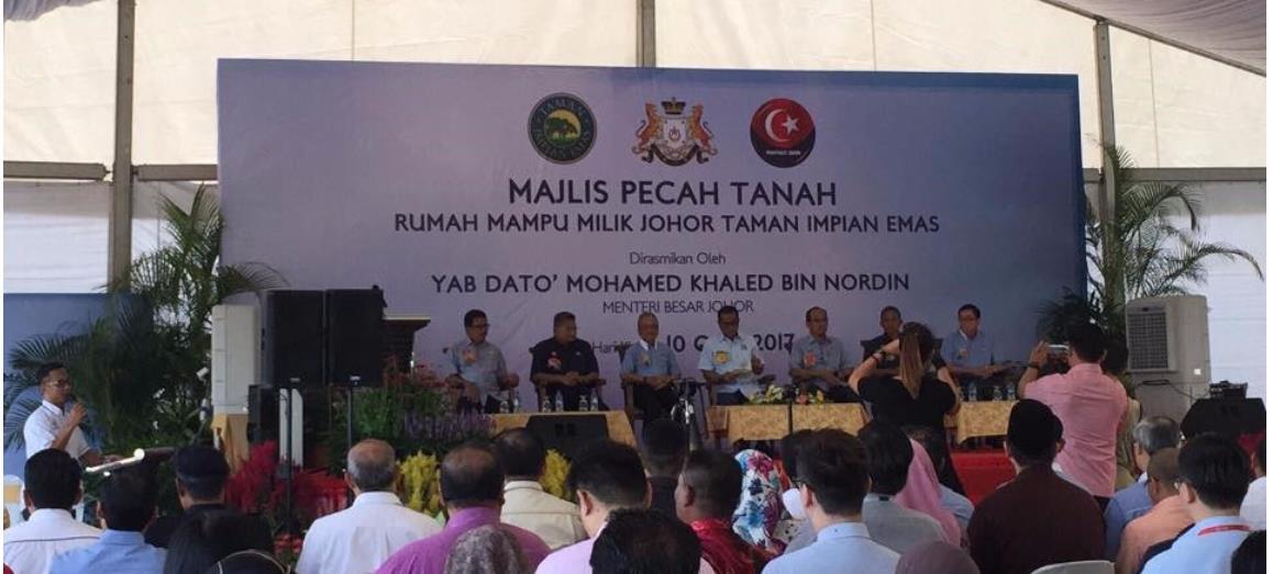 New Launching Project Of Rumah Mampu Milik Johor By Gunung Impian Development Sdn Bhd
