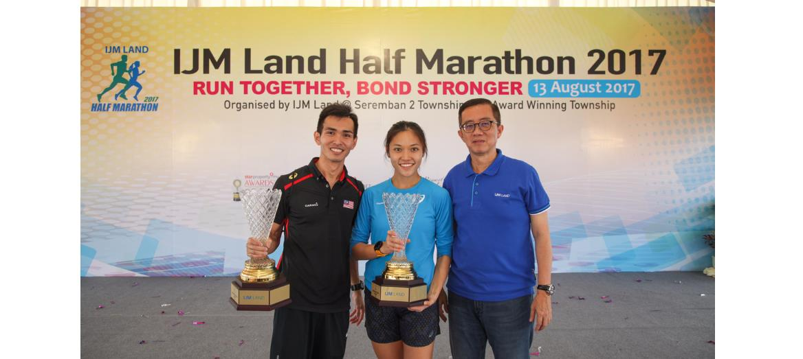 IJM Land Half Marathon 2017 Proves A Hit With 7,500 Runners