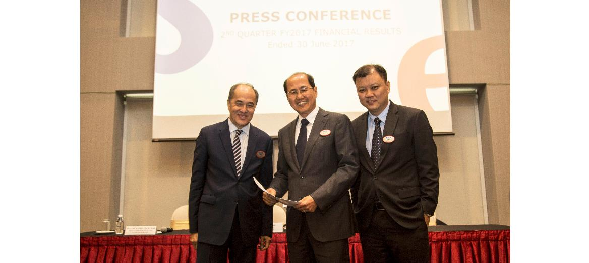 S P Setia Secured Sales of RM2.07 Billion For First Half Of FY2017