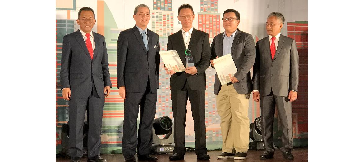 Mah Sing's Icon City, Petaling Jaya  Wins 3 Awards At CIDB''S QLASSIC Day 2017, Excellence In Construction