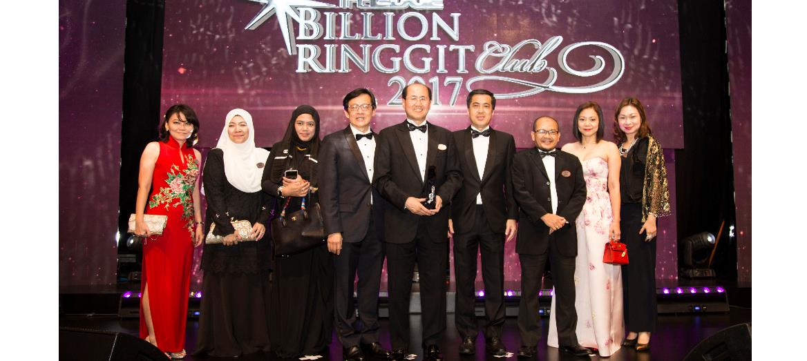S P Setia Stamps It's Mark At The Edge Billion Ringgit Club & Corporate Awards 2017