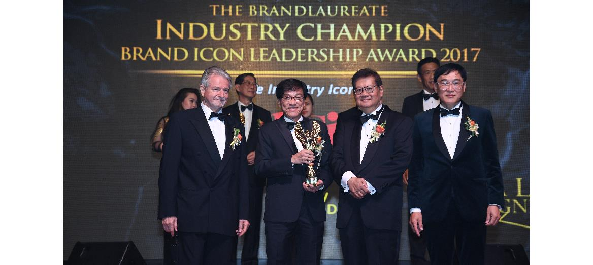 Mah Sing Group recognised as the industry champion brand icon in property by The BrandLaureate Awards