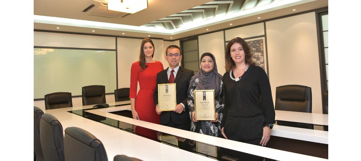 Exhale lands Medini two International awards