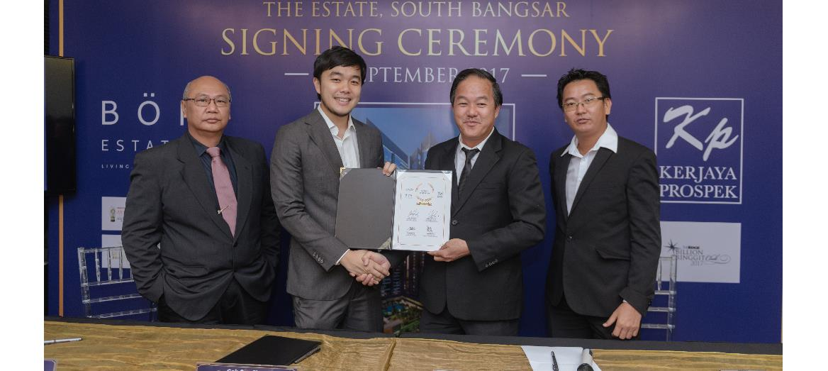 Bon Estates forms strategic partnership with Kerjaya Prospek