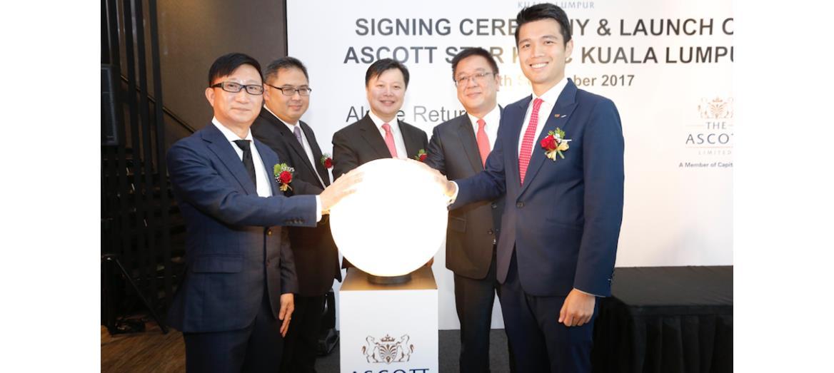 Alpine Return Sdn Bhd and Ascott jointly launch Ascott Star KLCC Kuala Lumpur at the heart of Kuala Lumpur