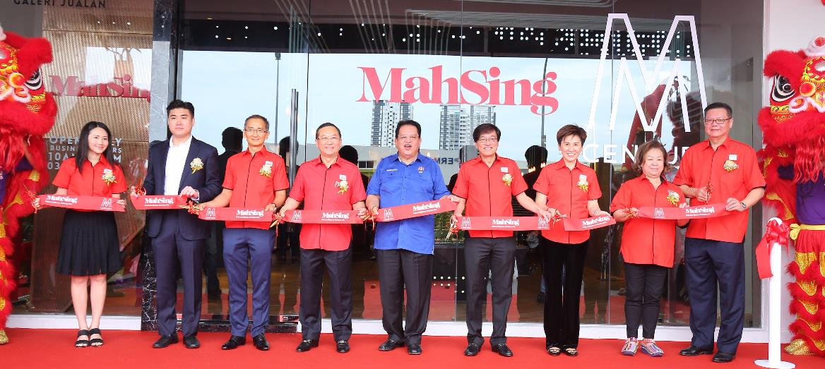Minister of Federal Territories launches Mah Sing''s M Centura Sales Gallery in Sentul