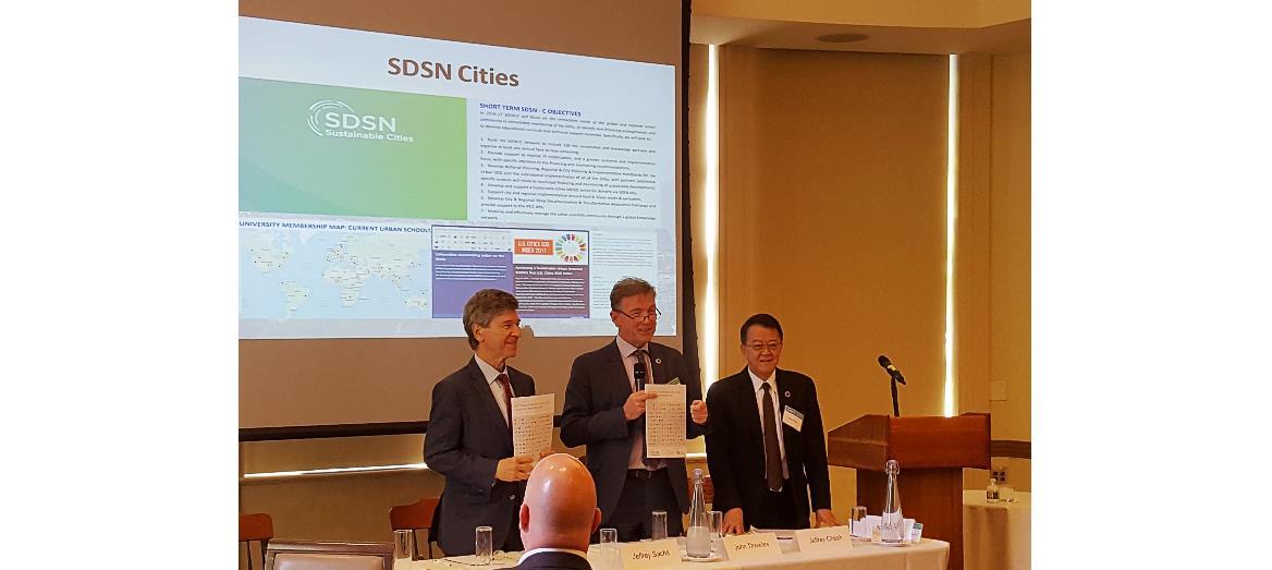 Tan Sri Dr Jeffrey Cheah Addresses UN SDSN Leadership Council in New York