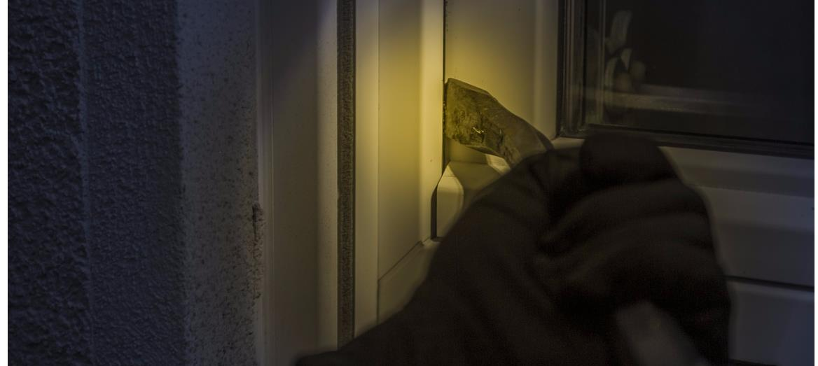Think like a burglar, act to protect your home