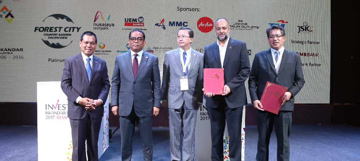 Iskandar Malaysia making further inroads in realising Smart City initiatives in line with CDPii MOUs for Smart Technology and Urban Observatory Initiatives