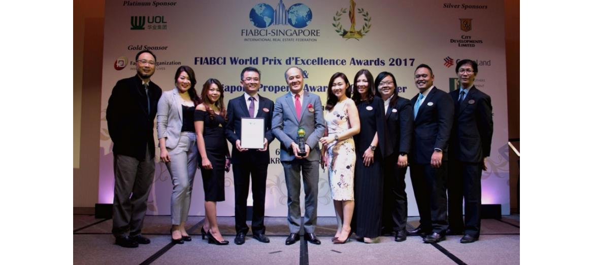 Eco Santuary by SP Setia awarded the Singapore Property Award 2017